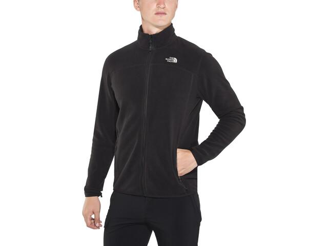 wholesale dealer 121cf 32f82 The North Face 100 Glacier Full-Zip Jacket Men tnf black